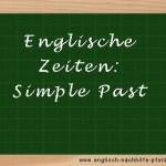 Sätze zu den Sommerferien im Simple Past