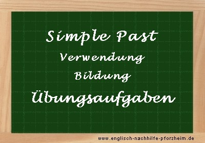 Simple Past übungen