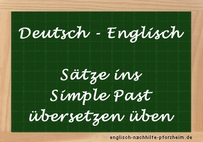 Simple Past übersetzen