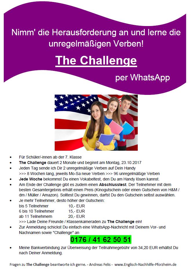 The Challenge 2 Flying English Coach Englisch Grammatik